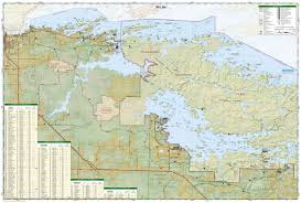 Minnesota Topographic Map Voyageurs National Park National Geographic Trails Illustrated