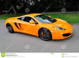 orange mclaren orange mclaren mp4 12c editorial photography image of rapid