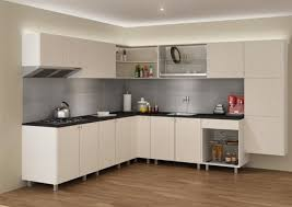 cabinets u0026 drawer one wall kitchen creame flat panel kitchen