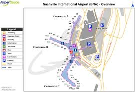 Middle Tn Map Nashville Airport Terminal Map Nashville Tn Airport Terminal Map