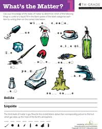 4th grade science worksheets u0026 free printables education com