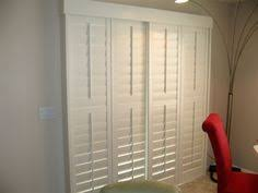 Bypass Shutters For Patio Doors Bypass Shutters These Might Work For Bunk Room The Shutters