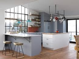 meuble cuisine habitat couleur de meuble de cuisine couleur de cuisine avec meuble blanc