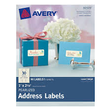 Avery Template 30 Labels Per Sheet by Amazon Com Avery Pearlized Address Labels 1 X 2 5 8 Pack Of