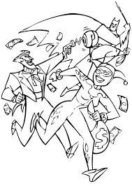 batman joker coloring pages batman and brigands coloring pages hellokids com