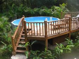 Above Ground Pool Landscaping Ideas Above Ground Pool Landscaping Ideas Pool And Landscape