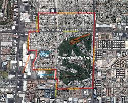 Zip Code Map Las Vegas Nv by Paradise Palms Paradise Palms Location Map
