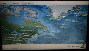Icelandair Route Map by Iceland 2014 U2013 Christopher Wagner