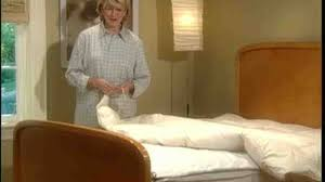 How To Make A Bed With A Duvet Video How To Properly Make A Bed Martha Stewart