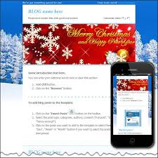 winter holiday free html e mail templates