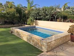 Backyard Ideas With Pool by Best 25 Raised Pools Ideas On Pinterest Garden Pool Backyard