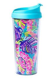 lilly pulitzer starbucks s u0027well water bottle collab k u0026k