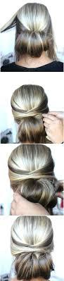 Hochsteckfrisurenen Glatte Haare Selber Machen by Schöne Haarfrisuren Für Jeden Anlass