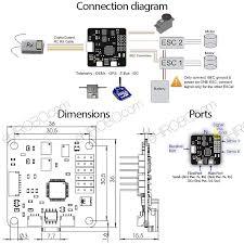 openpilot cc3d flight controller staight pin stm32 32 bit flexiport