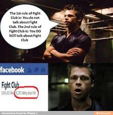 Club Meme - talking about the fight club meme by anonymoususer memedroid