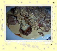 cuisiner le chevreuil facile recette de noisettes de chevreuil aux marasmes d oréades