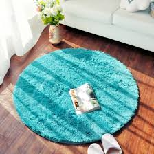Green Round Rug by Amazon Com Oneoney Round Shaggy Area Rugs And Carpet Super Soft