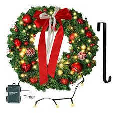 battery operated wreath christmas wreath with led lights christmas garland