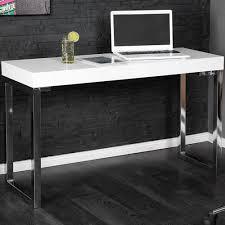 designer schreibtisch wei design laptoptisch white desk 120cm hochglanz weiss schreibtisch