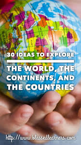 123 best geography for kids images on pinterest