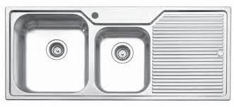 Narrow Kitchen Sinks by Stainless Steel Kitchen Sinks With Drainboard U2014 Decor Trends