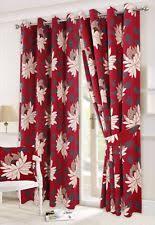 Plum Flower Curtains Floral Print Curtains Ebay