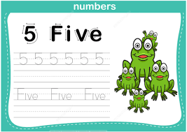 number 5 tracing worksheet free printable puzzle games