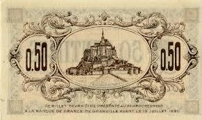 chambre de commerce granville billets de nécessité 1914 1918 granville manche chambre de