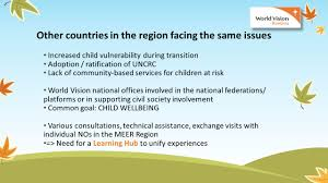 middle east and eastern europe region world vision u0027s long term