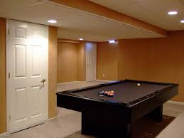 pleasant basement lighting low ceiling lights basements ideas