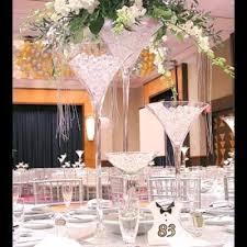 d coration mariage chetre vase martini 70 cm décoration centre de table mariage un jour