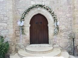 Wedding Arches In Church Civil Wedding Arch Annivia Gardens In Paphos Cyprus