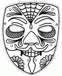 dead skull coloring pages kids coloring