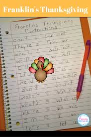 thanksgiving writing templates primary teachspiration