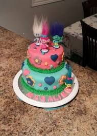 image result for disney trolls cake ideas jadyns bday ideas