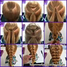 hairstyle to distract feom neck distract braid hairstyle step by step entertainment news photos