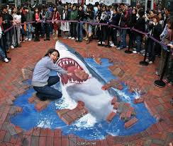 3d drawing on road 3d art on road paintings on road 3d art