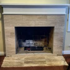 pretty tile fireplaces on this ceramic tile fireplace uses earth