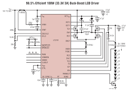 Most Efficient Floor Plans Solutions Lt3791 98 5 Efficient 100w 33 3v 3a Buck Boost Led