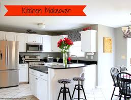 Kitchen Makeover Blog - eating in the shower from oh no ing to glowing kitchen remodel