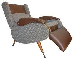 Modern Reclining Chairs Henry Glass Rare Vintage Recliner Chair Modern Recliner Chairs