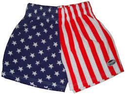 Mens Flag Shorts American Flag Workout Shorts