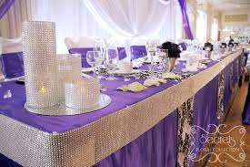 Wedding Head Table Decorations by Featured On Four Weddings Canada Secrets Floral Collection