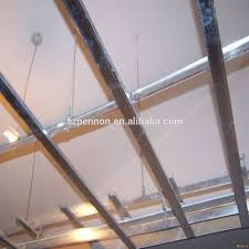 high strength light steel suspended ceiling grid components c