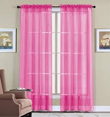 Pink Curtains For Girls Room Curtains For Girls Room Amazon Com