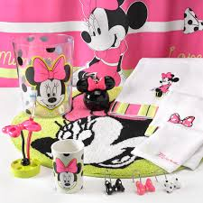 Minnie And Mickey Mouse Shower Curtain by Mickey And Minnie Mouse Bathroom Set My Web Value