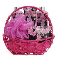 beauty gift baskets spa gift basket bath and with orchid