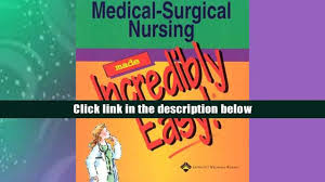 audiobook medical surgical nursing made incredibly easy