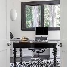 glossy black desk contemporary den library office pricey pads