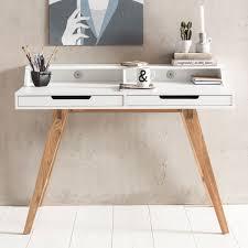 Schreibtisch 100 X 70 Finebuy Schreibtisch Scandi 110 X 85 X 60 Cm Mdf Holz
